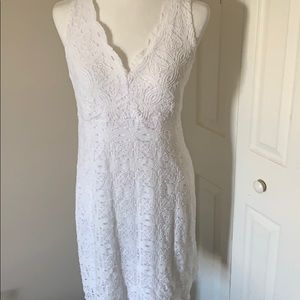 Never worn white lace dress